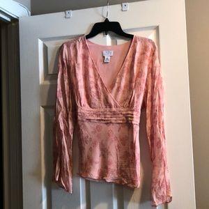 Silk Ann Taylor Loft blouse